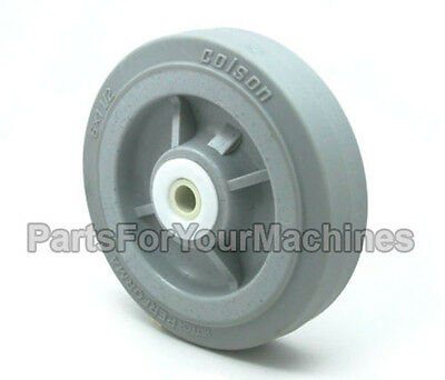 "Colson Performa Wheel, 6"" X 1-1/2"", 1/2"", Great For Most Buffers, Carts, Shelves"
