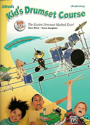 KID'S DRUMSET COURSE-Learn Beginners Drumming Book/DVD