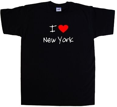 I Love Heart New York T-Shirt