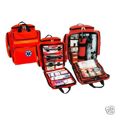 Mega Trauma Pack - Paramedic/EMT Backpack Bag - Orange