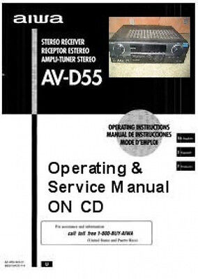 aiwa service manuals on cd free usa shipping 9 99 picclick rh picclick com