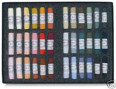 Unison Artists Pastel Box Set - 36 Portrait Colours