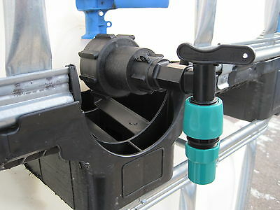 IBC Plastic Cap and Tap