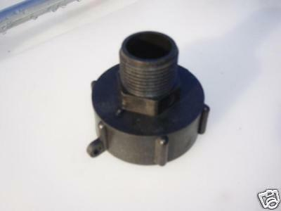 IBC Tank Adaptor to 1 inch BSP Male thread