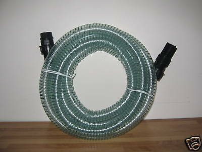 New Water Oil Fuel Tank 4 Metre Reinforced Hose