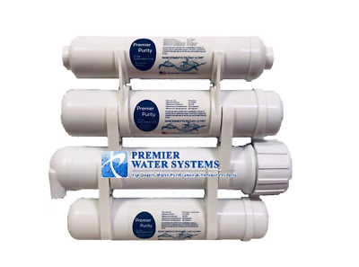Premier Portable Reverse Osmosis Water Filter System 4 Stage 100 GPD Mega size
