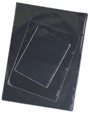 100 A3 Portfolio Sleeves - Glass Clear - Acid Free