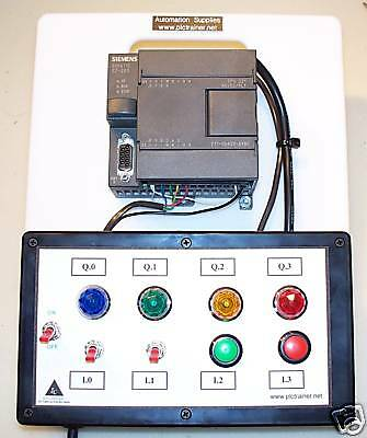 Siemens S7 PLC Trainer, Cable, Software, Lessons