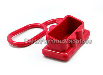 "DUST COVER FOR ANDERSON SB175 CONNECTORS, RED, 2""x1"" OPENING, WINCHES, 4X4, RV"