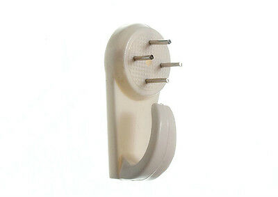 10 X Of  Hard Wall Picture Hanging Frame Hooks 40Mm