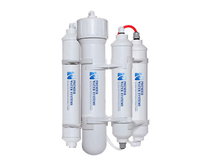 PREMIER Portable Mini Reverse Osmosis Water Filter System 50 GPD 4 Stage RO USA