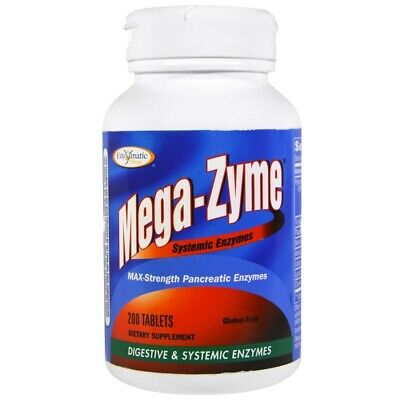 Megazyme 10x Strength, x200tabs;- MALABSORPTION RELIEF!
