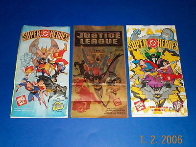JACK IN THE BOX KIDS MEAL JUSTICE LEAGUE BAGS LOT