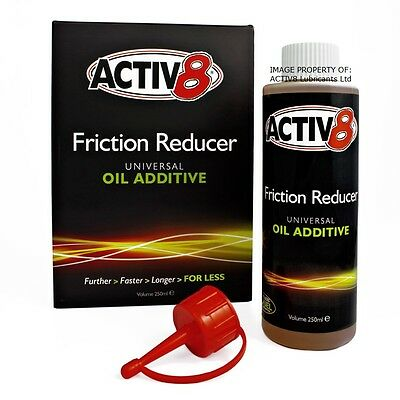 250ml ACTIV8 Oil Additive - All Kawasaki & Triumph Motorcycles and more.....