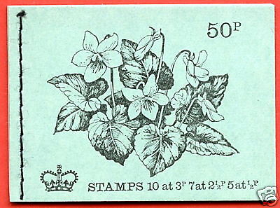 DT5 1972 February 50p Stitched Booklet
