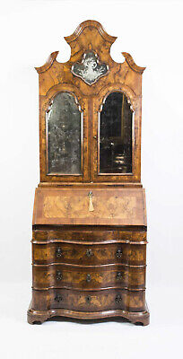 Antique Important Venetian Bureau Bookcase c.1750