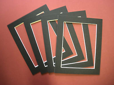 BLACK PICTURE FRAME MOUNT - PACK 10 - 10x10