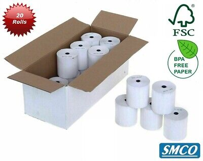 SMCO  Spire Payments SPc50 PDQ / Credit Card Machine Rolls - Box of 20