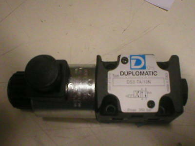 DUPLOMATIC DIRECTIONAL CONTROL VALVE DS3-TA/10N (24K)
