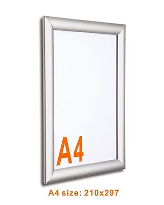 A4 Wall Mounted Snap Frame Poster Frame