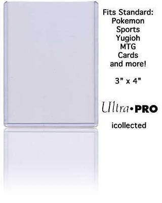 One (1) Ultra Pro Top Loader 3 x 4 Rigid Card Protector