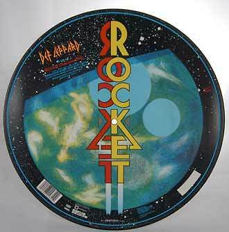 Def Leppard Rocket Disco 12 Lp Vinile 33 Metal 1988 Uk