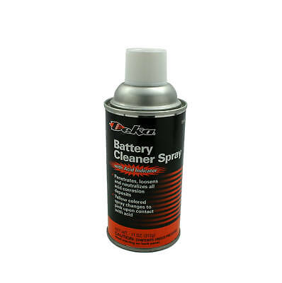 Battery Cleaner Spray With Acid Indicator By Deka, New!
