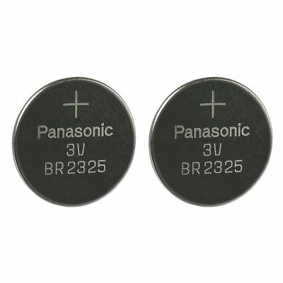 2 PANASONIC BR2325 CR2325 CR 2325 3v Lithium Battery