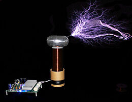 microBrute DRSSTC Tesla Coil - Complete Kit Awesome!