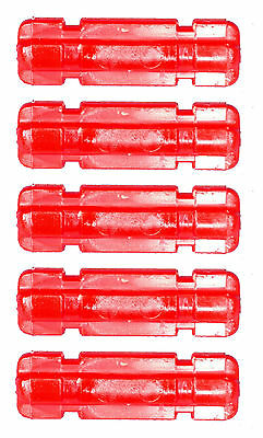 Missing Lego Brick 32062 Red x 5 Technic Axle Notched
