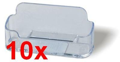 10x Single Compartment Business Card Holder
