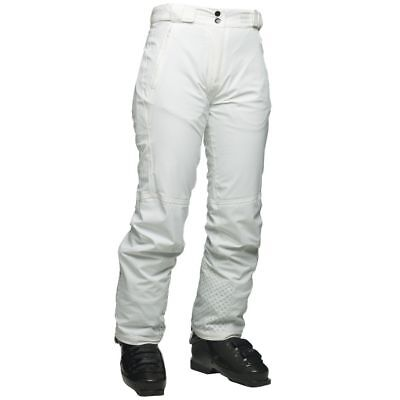 Women's Dare2b 'Lexicon' White Ski Salopettes/Pant.