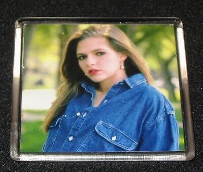 Square Photo Frames photo insert magnet on back (25)