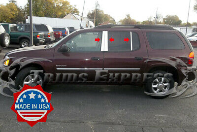 2002-2004 GMC Envoy Body Side Molding Trim Insert Flat Accent 4Pc-remove logo