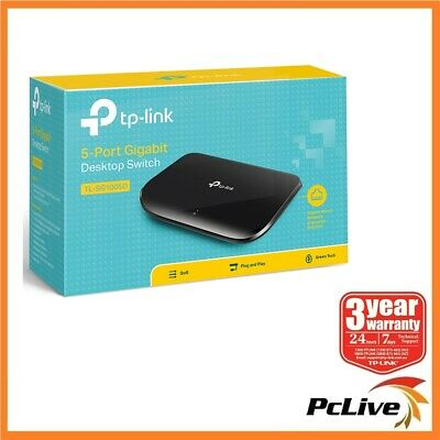 TP-Link TL-SG1005D 5 port 1000Mbps Gigabit Ethernet Switch Hub