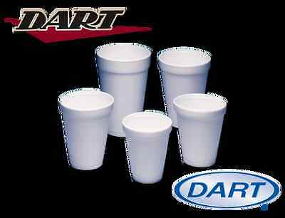 7oz Polystyrene Dart Insulated Foam Poly Cups 1000, Just £15.15 Ex Vat - UKB409