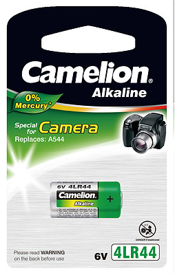 3 Camelion 4LR44 PX28A V4034PX A544 6V Photo Batterie