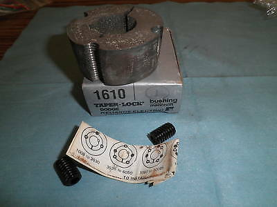 """RELIANCE ELECTRIC 7//8/"""" TAPER-LOCK BUSHING 1610 *NEW IN BOX*"""