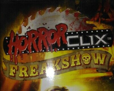 HORRORCLIX FREAKSHOW Knife Thrower / The Great Slicini 031 032 033 REV SET