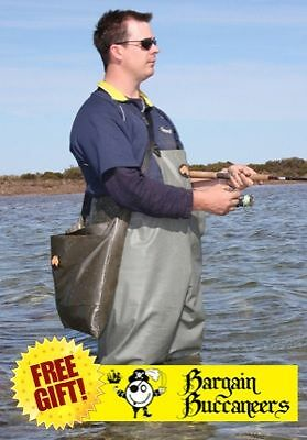 Hornes Full Length Waders Cleated Sole Boots +Free Gift