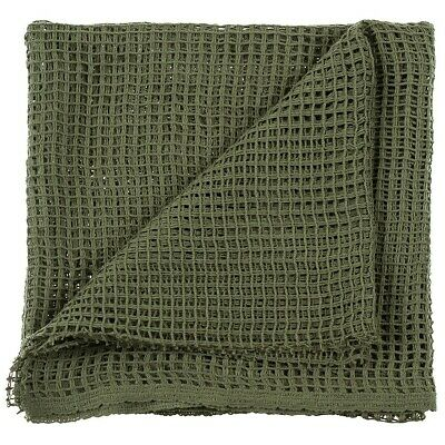 NEW - Genuine Army Issue Olive Green Scrim Face Veil / Scarf