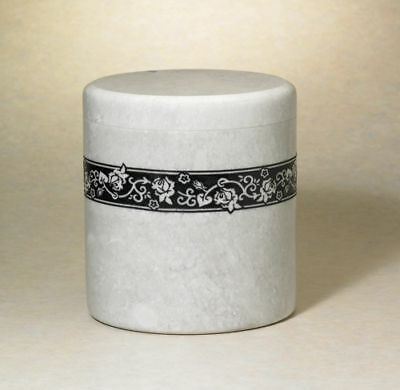 """Natural Marble Quality Adult Cremation Urn Rose 230Cu"""""""