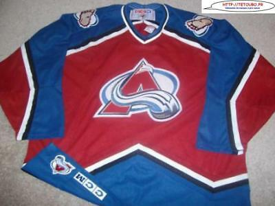 Maillot jersey de hockey sur glace NHL Colorado AVALANCHES 2XL