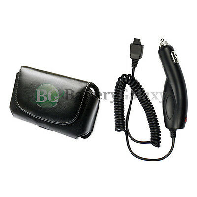 Battery Car Charger Cell Phone + Case for LG vx9900 enV