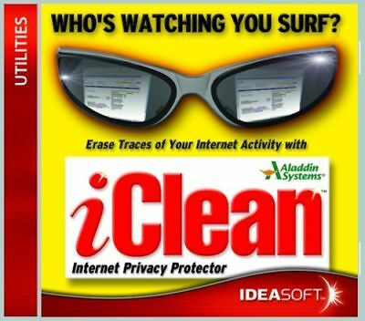 iClean Ideasoft Erase Traces of I/Net New PC Software!