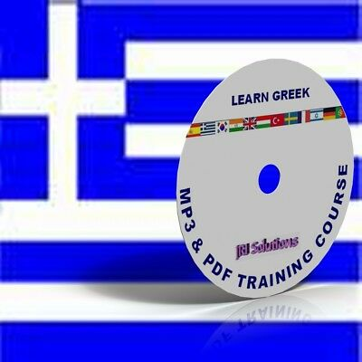 Learn To Speak Greek Language fluently Course DVD, MP3 & PDF, language of Greece
