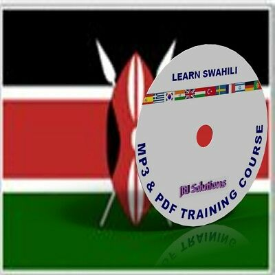 Learn To Speak Swahili Language fluently Course DVD, MP3 & PDF,Kenya language