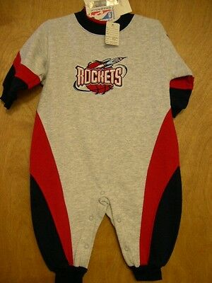 HOUSTON ROCKETS SLEEPER One Piece COTTON/POLY NWT