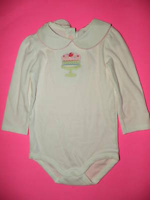 GYMBOREE TINY TEAL NEPS w// LITTLE BIRDS Sweetie L//S BODYSUIT 0 3 6 12 18 24 NWT