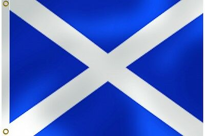 Large 5Ft X 3Ft Scottish Saltire St Andrews Flag Ideal For Events Burns Night